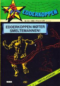 Cover Thumbnail for Edderkoppen (Atlantic Forlag, 1978 series) #10/1980