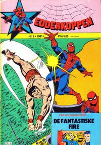 Cover Thumbnail for Edderkoppen (Atlantic Forlag, 1978 series) #9/1981