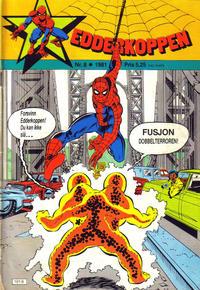 Cover Thumbnail for Edderkoppen (Atlantic Forlag, 1978 series) #8/1981