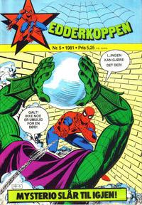 Cover Thumbnail for Edderkoppen (Atlantic Forlag, 1978 series) #5/1981