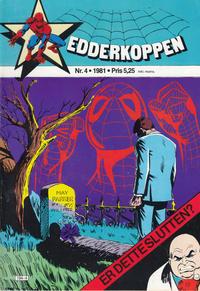Cover Thumbnail for Edderkoppen (Atlantic Forlag, 1978 series) #4/1981