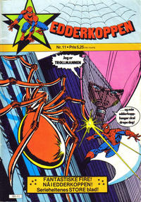 Cover Thumbnail for Edderkoppen (Atlantic Forlag, 1978 series) #11/1981
