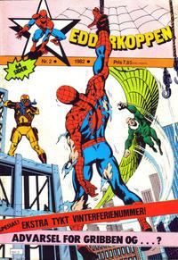 Cover Thumbnail for Edderkoppen (Atlantic Forlag, 1978 series) #2/1982