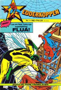 Cover Thumbnail for Edderkoppen (Atlantic Forlag, 1978 series) #1/1982