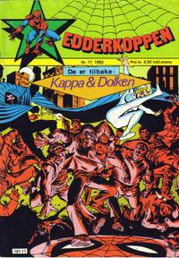 Cover Thumbnail for Edderkoppen (Atlantic Forlag, 1978 series) #11/1983