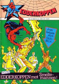 Cover Thumbnail for Edderkoppen (Atlantic Forlag, 1978 series) #8/1983