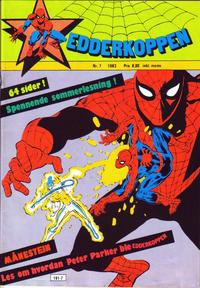 Cover Thumbnail for Edderkoppen (Atlantic Forlag, 1978 series) #7/1983