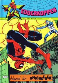 Cover Thumbnail for Edderkoppen (Atlantic Forlag, 1978 series) #6/1983