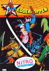 Cover Thumbnail for Edderkoppen (Atlantic Forlag, 1978 series) #4/1983