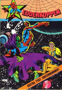 Cover Thumbnail for Edderkoppen (Atlantic Forlag, 1978 series) #2/1983