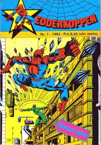Cover Thumbnail for Edderkoppen (Atlantic Forlag, 1978 series) #1/1983
