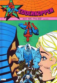 Cover Thumbnail for Edderkoppen (Atlantic Forlag, 1978 series) #6/1984