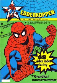 Cover Thumbnail for Edderkoppen (Atlantic Forlag, 1978 series) #7/1984