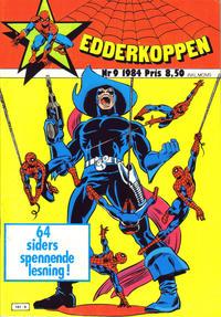 Cover Thumbnail for Edderkoppen (Atlantic Forlag, 1978 series) #9/1984