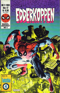 Cover Thumbnail for Edderkoppen (Semic, 1984 series) #11/1984