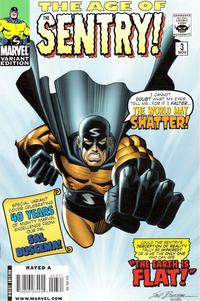 Cover Thumbnail for The Age of the Sentry (Marvel, 2008 series) #3 [Variant Edition]