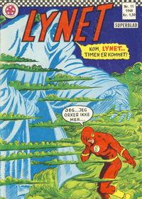 Cover Thumbnail for Lynet (Serieforlaget / Se-Bladene / Stabenfeldt, 1967 series) #11/1968