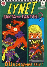 Cover Thumbnail for Lynet (Serieforlaget / Se-Bladene / Stabenfeldt, 1967 series) #1/1969