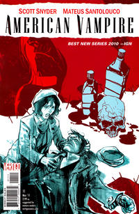 Cover Thumbnail for American Vampire (DC, 2010 series) #11