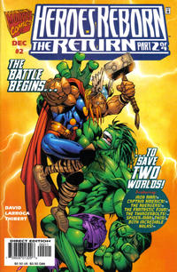 Cover Thumbnail for Heroes Reborn: The Return (Marvel, 1997 series) #2 [Direct Edition]