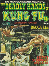 Cover Thumbnail for The Deadly Hands of Kung Fu (K. G. Murray, 1975 series) #4