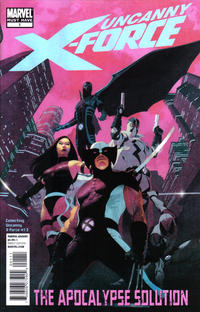 Cover Thumbnail for Uncanny X-Force: The Apocalypse Solution (Marvel, 2011 series) #1