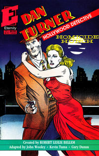Cover Thumbnail for Dan Turner, Hollywood Detective: Homicide Hunch (Malibu, 1991 series) #1