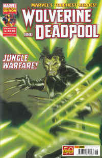 Cover Thumbnail for Wolverine and Deadpool (Panini UK, 2010 series) #18