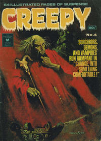 Cover Thumbnail for Creepy (K. G. Murray, 1974 series) #4