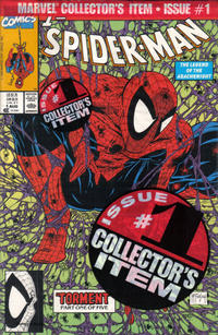 Cover Thumbnail for Spider-Man (Marvel, 1990 series) #1 [Direct Edition]