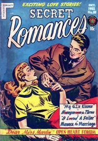 Cover Thumbnail for Secret Romances (Superior Publishers Limited, 1951 series) #10