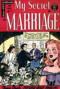 Cover Thumbnail for My Secret Marriage (Superior, 1953 series) #11