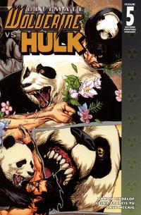 Cover Thumbnail for Ultimate Wolverine vs. Hulk (Marvel, 2006 series) #5 [Second Printing]