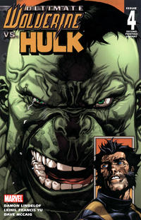 Cover Thumbnail for Ultimate Wolverine vs. Hulk (Marvel, 2006 series) #4 [Second Printing]