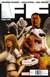 Cover Thumbnail for FF (Marvel, 2011 series) #1 [Newsstand Edition]
