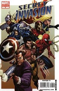 Cover Thumbnail for Secret Invasion (Marvel, 2008 series) #8 [Leinil Yu Variant Cover]