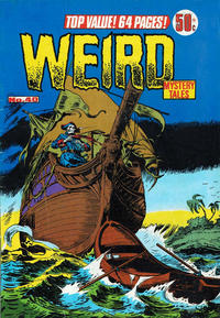 Cover Thumbnail for Weird Mystery Tales (K. G. Murray, 1972 series) #40