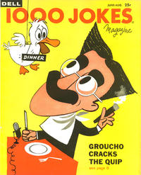 Cover Thumbnail for 1000 Jokes (Dell, 1939 series) #86