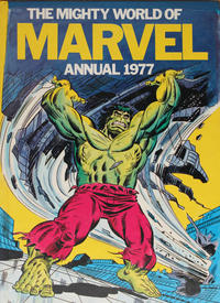 Cover for The Mighty World of Marvel Annual (World Distributors, 1976 series) #1977