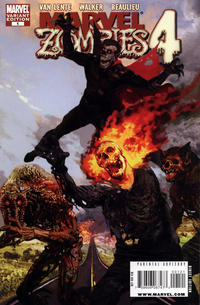 Cover for Marvel Zombies 4 (Marvel, 2009 series) #1
