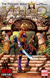 Cover Thumbnail for Ythaq: The Forsaken World (Marvel, 2008 series) #1 [Variant Edition]