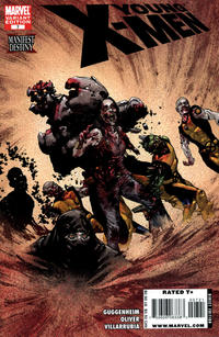 Cover Thumbnail for Young X-Men (Marvel, 2008 series) #7 [Zombie Variant Edition]