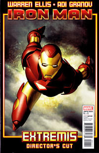 Cover Thumbnail for Iron Man: Extremis Director's Cut (Marvel, 2010 series) #1