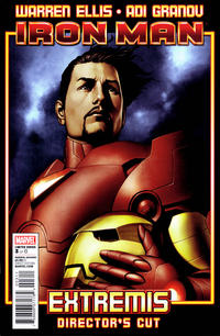 Cover Thumbnail for Iron Man: Extremis Director's Cut (Marvel, 2010 series) #3