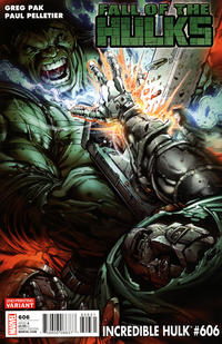 Cover Thumbnail for Incredible Hulk (Marvel, 2009 series) #606 [Second Printing]