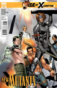 Cover Thumbnail for New Mutants (Marvel, 2009 series) #22 [Variant Edition]
