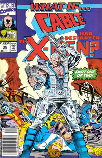 Cover Thumbnail for What If...? (Marvel, 1989 series) #46 [Newsstand]