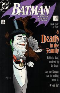 Cover Thumbnail for Batman (DC, 1940 series) #429 [Direct]