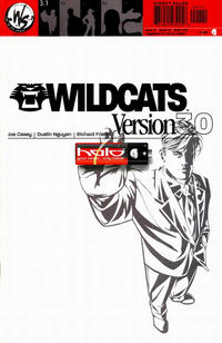 Cover Thumbnail for Wildcats Version 3.0 (DC, 2002 series) #1 [Cover B Variant]