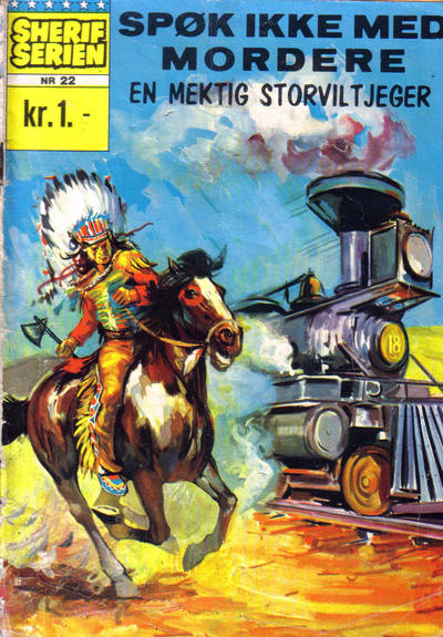 Cover for Star Western (Illustrerte Klassikere / Williams Forlag, 1964 series) #22